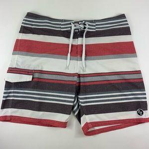EZEKIEL swim shorts boardshorts 36 striped